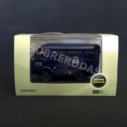 Oxford 1:43 Austin ThreeWay Van Civil Service Stores