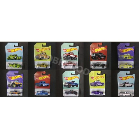 Hot Wheels 1:64 American Pickups Series (Set)