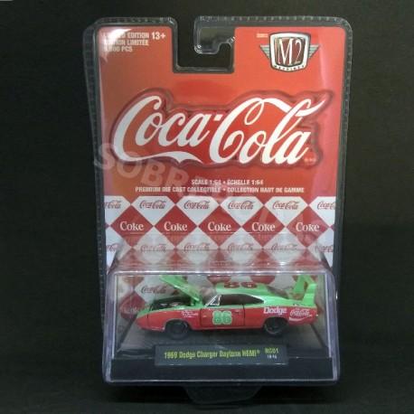 M2 Machines 1:64 1969 Dodge Charger Daytona HEMI