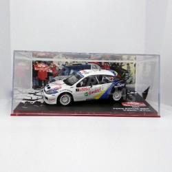 IXO Models 1:43 Ford Focus WRC (Rallye Monte-Carlo 2004)