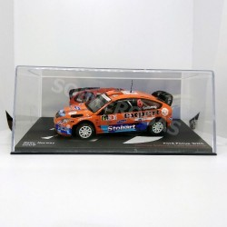 IXO Models 1:43 Ford Focus WRC (Rally Norway 2009)