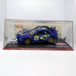 IXO Models 1:43 Subaru Impreza WRC (Rallye Monte-Carlo 1998)