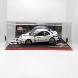 IXO Models 1:43 Subaru Impreza 555 (Rallye Monte-Carlo 1996)