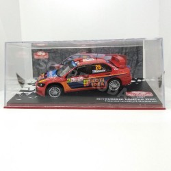 IXO Models 1:43 Mitsubishi Lancer WRC (Rallye Monte-Carlo 2007)