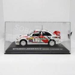 IXO Models 1:43 Mitsubishi Lancer Evo IV (TAP Rally de Portugal 1997)