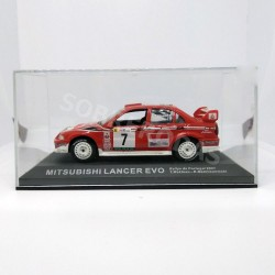 IXO Models 1:43 Mitsubishi Lancer Evo (Rally de Portugal 2001)