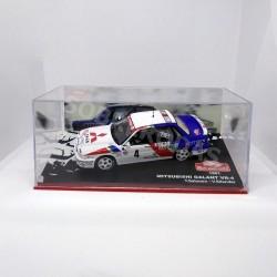 IXO Models 1:43 Mitsubishi Galant VR-4 (Rallye Monte-Carlo 1991)
