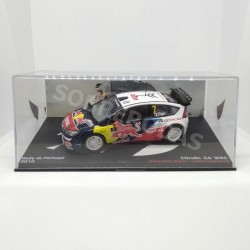 IXO Models 1:43 Citroën C4 WRC (Rally de Portugal 2010)