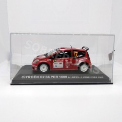 IXO Models 1:43 Citroën C2 S1600 (Rally de Portugal 2005)