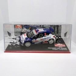 IXO Models 1:43 Peugeot 207 S2000 (Rallye Monte-Carlo 2009)