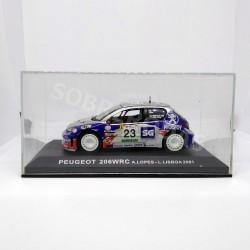 IXO Models 1:43 Peugeot 206 WRC (Rally de Portugal 2001)
