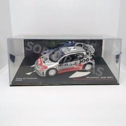 IXO Models 1:43 Peugeot 206 WRC (Rally de Finlandia 2002)