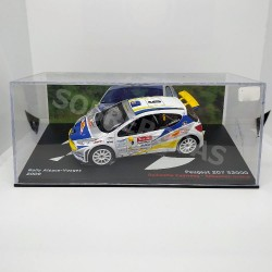 IXO Models 1:43 Peugeot 207 S2000 (Rally Alsace-Vosges 2009)