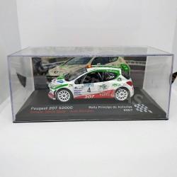 IXO Models 1:43 Peugeot 207 S2000 (Rally Príncipe de Asturias 2007)