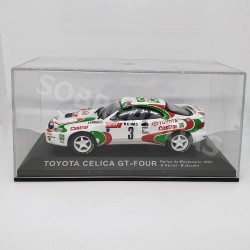 IXO Models 1:43 Toyota Celica GT-4 (Rallye Monte-Carlo 1993)