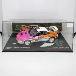 IXO Models 1:43 Toyota Celica GT-4 (Rally Le Touquet-Pas de Calais 2010)