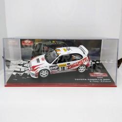 IXO Models 1:43 Toyota Corolla WRC (Rallye Monte-Carlo 2000)
