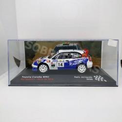 IXO Models 1:43 Toyota Corolla WRC (Rally Acropolis 1998)