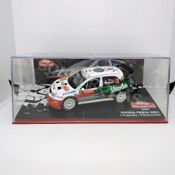 IXO Models 1:43 Skoda Fabia WRC (Rallye Monte-Carlo 2007)
