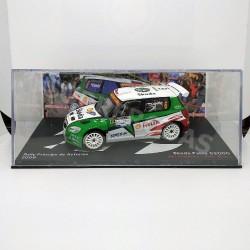 IXO Models 1:43 Skoda Fabia S2000 (Rally Príncipe de Asturias 2009)