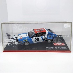 IXO Models 1:43 Renault 17 Gordini (Rallye Monte-Carlo 1975)