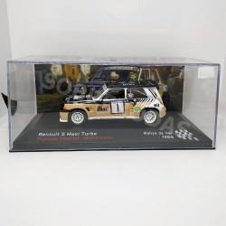 IXO Models 1:43 Renault 5 Maxi Turbo (Rallye de Var 1986)