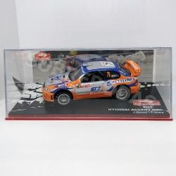 IXO Models 1:43 Hyundai Accent WRC (Rallye Monte-Carlo 2004)