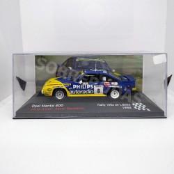 IXO Models 1:43 Opel Manta 400 (Rally Villa de Llanes 1986)
