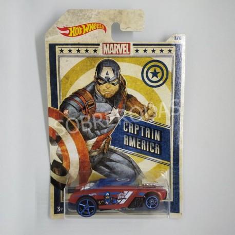 Hot Wheels 1:64 Rogue Hog (Captain America)