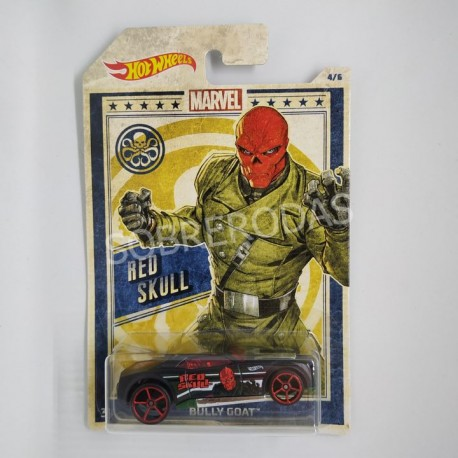 Hot Wheels 1:64 Bully Goat (Red Skull)