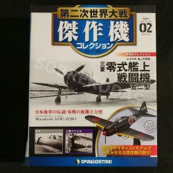 Planeta DeAgostini 1:72 Mitsubishi A6M5 ZERO