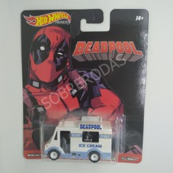 Hot Wheels 1:64 Deadpool Ice Cream Truck