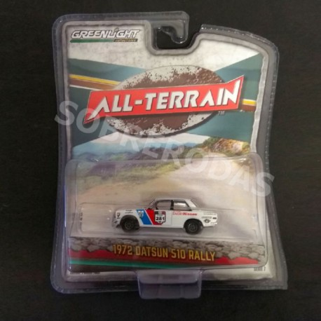 Greenlight 1:64 1972 Datsun 510 Rally