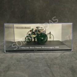 Magazine Models 1:43 1886 Mercedes-Benz 3 Wheeler Benz Patent Motorwagen