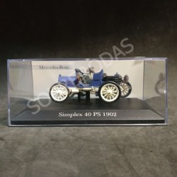 Magazine Models 1:43 1902 Mercedes-Benz Simplex 40 PS