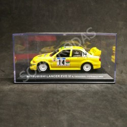 IXO Models 1:43 Mitsubishi Lancer Evo VI (Rally de Portugal 2004)