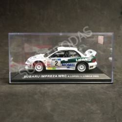 IXO Models 1:43 Subaru Impreza WRC (Rally de Portugal 2002)