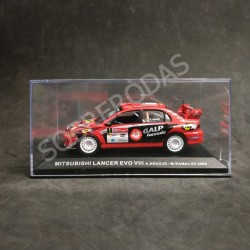 IXO Models 1:43 Mitsubishi Lancer Evo VIII (Rally de Portugal 2005)