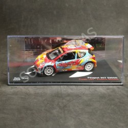 IXO Models 1:43 Peugeot 207 S2000 (Rally Ypres 2009)