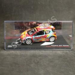 IXO Models 1:43 Peugeot 207 S2000 (Rally Ypres 2009)