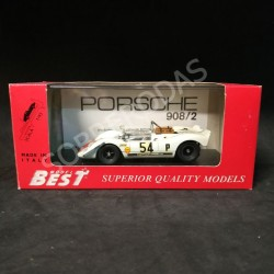Best Model 1:43 Porsche 908-2 Brands Hatch 1969