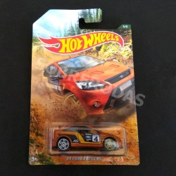 Hot Wheels 1:64 '09 Ford Focus RS (Backroad Rally Series)