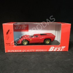 "Best Model 1:43 Ferrari 312P Coupe ""Prova"" 1969"