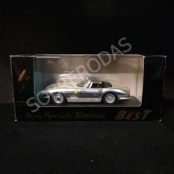 Best Model 1:43 Ferrari GTB 4 Spyder (Silver Plated)