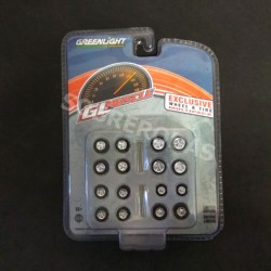 Greenlight 1:64 Exclusive Wheel & Tire Multipack