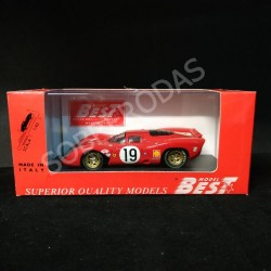 Best Model 1:43 Ferrari 312P Coupe Le Mans 1969