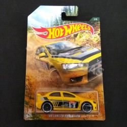 Hot Wheels 1:64 '08 Lancer Evolution (Backroad Rally Series)