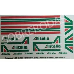 Decalques 1:64 Alitalia