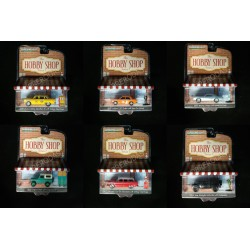 Greenlight 1:64 The Hobby Shop Series 7 (Set)