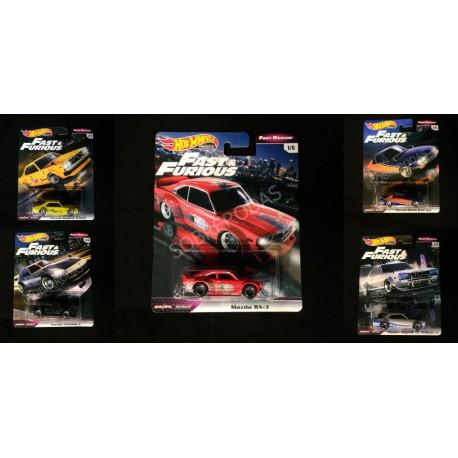 Hot Wheels 1:64 Fast & Furious: Fast Rewind (Set)